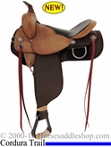 "16"" 17"" Fabtron Easy Trail Homesteader Saddle FQHB 7672 7674"