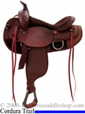 "16"" FQHB All Around Cordura Saddle with suede leather padded seat by Fabtron 7146 7148"