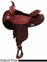 "17"" Fabtron Gaited Horse Saddle 7142 7144"
