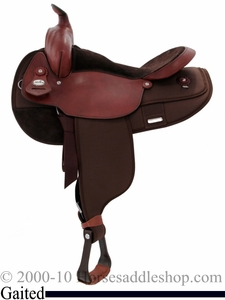 "16"" 17"" Fabtron Gaited Horse Saddle 7142 7144"
