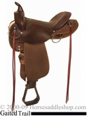 "16"" 17"" High Horse 'El Campo' Cordura Gaited Trail by Circle Y 6970"