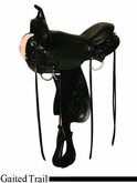 "16"" 17"" High Horse Garwood Gaited Trail Saddle by Circle Y 6871"