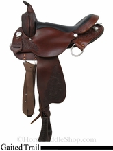 """16"""" 17"""" High Horse Round Rock Gaited Trail Saddle by Circle Y 6870"""