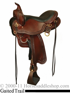 "16"" 17"" Circle Y SupeRide Yosemite Gaited Trail Saddle 3875 *free pad or cash discount*"