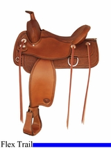 "16"" 17"" Tex Tan Benton Flex Trail Saddle 292TF483"