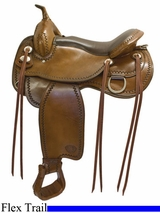"16"" 17"" Tex Tan Bozeman Flex Trail Saddle 292TF520"