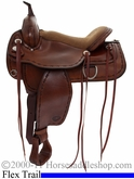 "16"" 17"" Tex Tan Montrose Flex Trail Saddle 08tf-413-1"