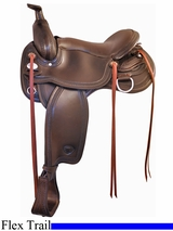 "16"" 17"" Tex Tan Franklin Flex Trail Saddle 292TF515"