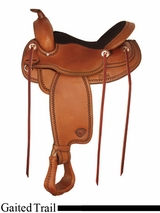 "16"" 17"" Tex Tan Gaited Trail Saddle 292519"