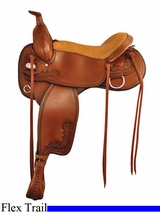 "16"" 17"" Tex Tan Hallelujah Flex Trail Saddle 292TF514PN"