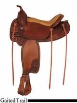 "16"" 17"" Tex Tan Jackson Gaited Trail Saddle 292TF494"