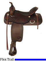"** SALE ** 16"" 17"" Tex Tan Southern Comfort Trail Saddle 292507LC"