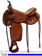"16"" 17"" Tex Tan Live Oak Trail Saddle 292499PN6"