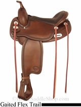 "16"" 17"" Tex Tan Tuscaloosa Flex Gaited Trail Saddle 292TF488"