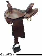 "16"" to 18"" The Tennessean Lite-Rider Saddle With Horn 5367"