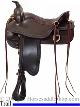 """** SALE **15.5"""" to 18.5"""" Tucker Cheyenne Frontier Trail Saddle 167 *free gift*"""