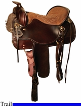"""15.5"""" to 18.5"""" Tucker Cheyenne Frontier Trail Saddle 167 *Cash Discount*"""