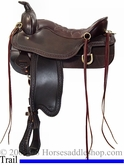 "** SALE **16.5"" 17.5"" Tucker Cheyenne Frontier Trail Saddle 167 *FREE $93.07 GIFT!*"