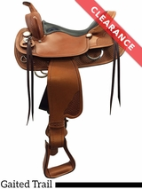 """SOLD 2017/02/01  16.5"""" The Tennessean� Supreme Golden Gaited Medium Saddle 7239 CLEARANCE"""