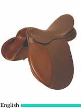 "** SALE ** 16.5"" to 17.5"" Kincade Leather All Purpose Saddle 661768"
