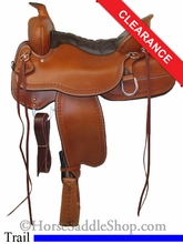 "16.5"" Tucker Big Bend Trail Saddle 293"