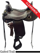 "SOLD 2016/06/20 16.5"" Tucker Black Mountain Gaited Saddle 261 CLEARANCE"