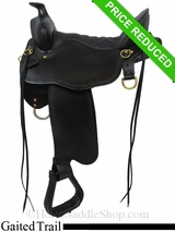 "16.5"" Tucker Black Mountain Gaited Saddle 261"