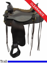"SOLD 2016/04/12 16.5"" Tucker Cheyenne Frontier Saddle 167, Floor Model ustk3303 *Free Shipping*"