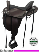 "16.5"" Tucker Compass Rose 150 Endurance Saddle, Floor Model ustk3267 *Free Shipping*"