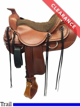 "16.5"" Tucker Dead Wood Trail Saddle 282 CLEARANCE"