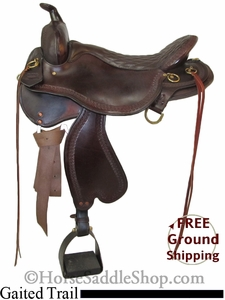 "SOLD 2014/10/31/14 $1199 PRICE REDUCED! 17.5"" Tucker Gaited Trail Saddle ustk2644 *Free Shipping*"