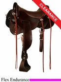 "SOLD 2014/07/18 $1665 16.5"" Tucker GEN II Tevis Flex Endurance Saddle 151"