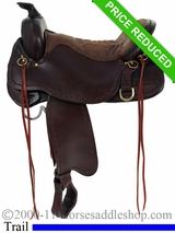 "16.5"" Tucker Northwest Trail Saddle 254"