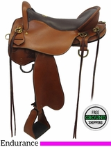 "16.5"" Used Tucker Endurance Saddle, Wide Tree ustk3281 *Free Shipping*"