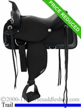"16"" Abetta Brushpopper Trail Saddle 20555"