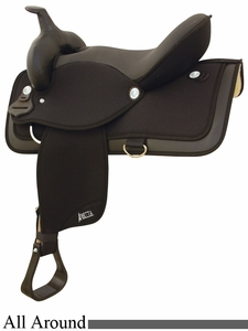 "16"" 17"" Abetta Equis All-Around Saddle 20516"