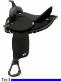 "16"" Abetta Original Nylon Flex Trail Saddle 20501F6"