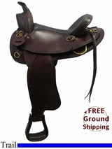 "PRICE REDUCED! 16"" American Saddlery 939 Trail Saddle, Wide Tree, Demo Saddle usam3166 *Free Shipping*"