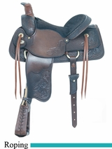 "16"" American Saddlery All Around Special Roping Saddle am790"