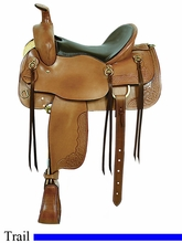 "16"" American Saddlery Cumberland Trail Saddle am1386"