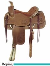 "16"" American Saddlery MasterCraft Helena II Roper Saddle am1794"