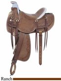 "16"" American Saddlery MasterCraft Legend Rancher Saddle am125"