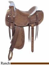 "16"" American Saddlery MasterCraft Legend Rancher Saddle 125"