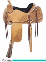 "16"" American Saddlery MasterCraft Pro Classic Roper Saddle am118"