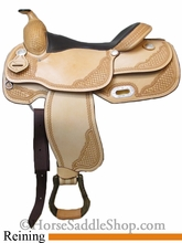 "16"" American Saddlery Mastercraft Pro Reiner Saddle 9602"