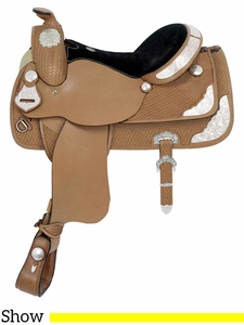 "** SALE ** 16"" American Saddlery MasterCraft Showmaster Show Saddle 1998"
