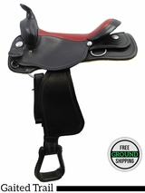 "SOLD 2016/04/05 16"" American Saddlery Midnight 552 Gaited Trail Saddle, Floor Model usam3170 *Free Shipping*"