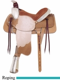 "16"" American Saddlery Rodeo All Around Roping Saddle am759"