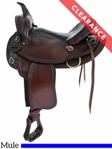 "16"" American Saddlery Texas Best Hill Country Wide Mule Trail II Saddle 940M CLEARANCE"