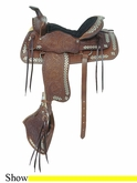"16"" American Saddlery The Parade of Diamonds Saddle am251"